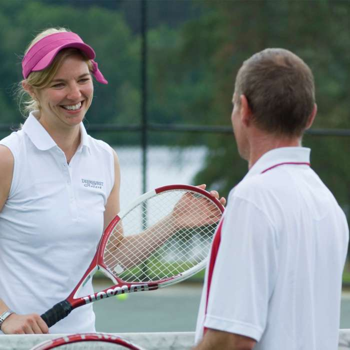 Tennis Lessons at Deerhurst