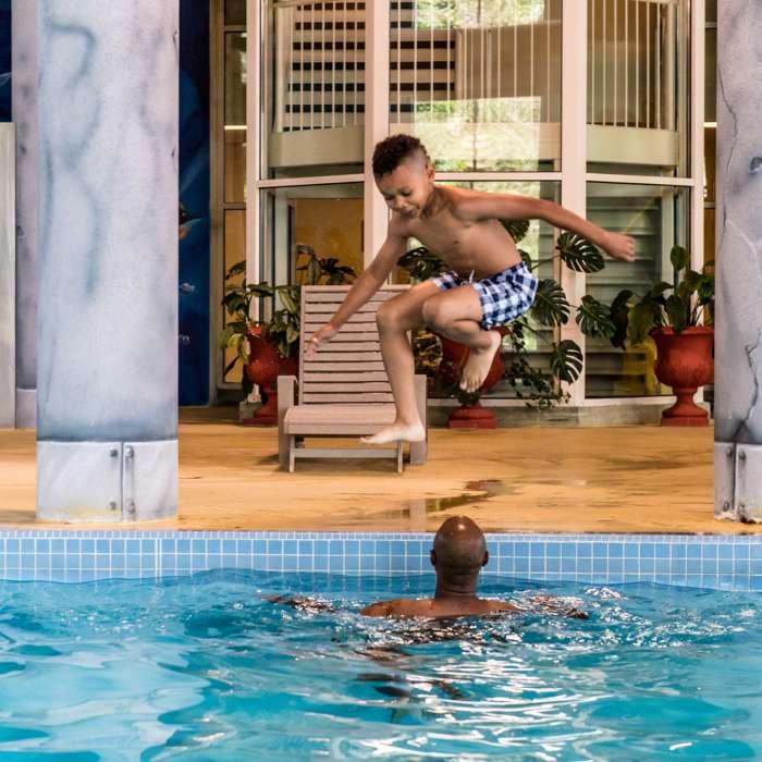 Indoor Pool at Deerhurst Resort