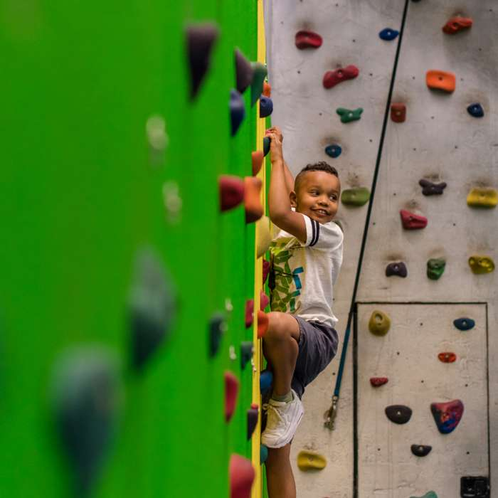 Indoor Rock Climbing Wall