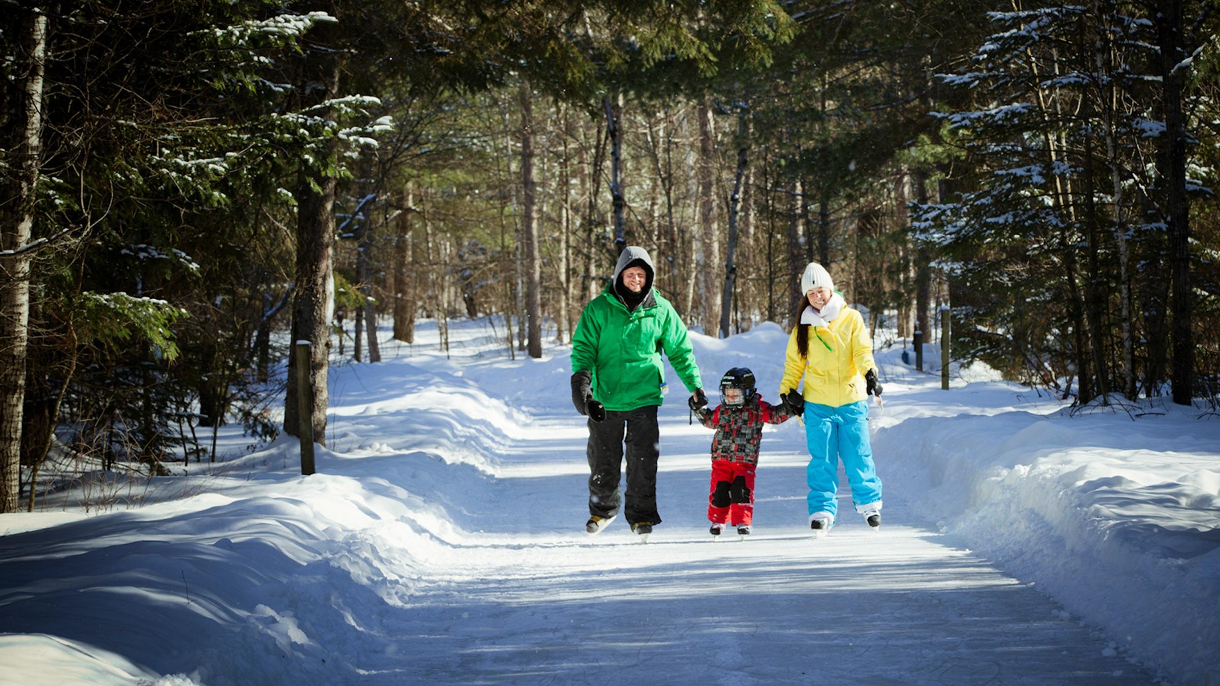 Arrowhead Ice Skating Trail Package Deerhurst Resort
