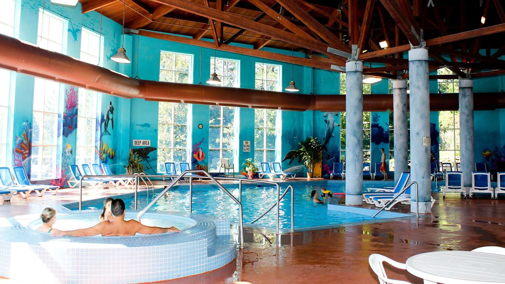 Indoor Pool at Deerhurst
