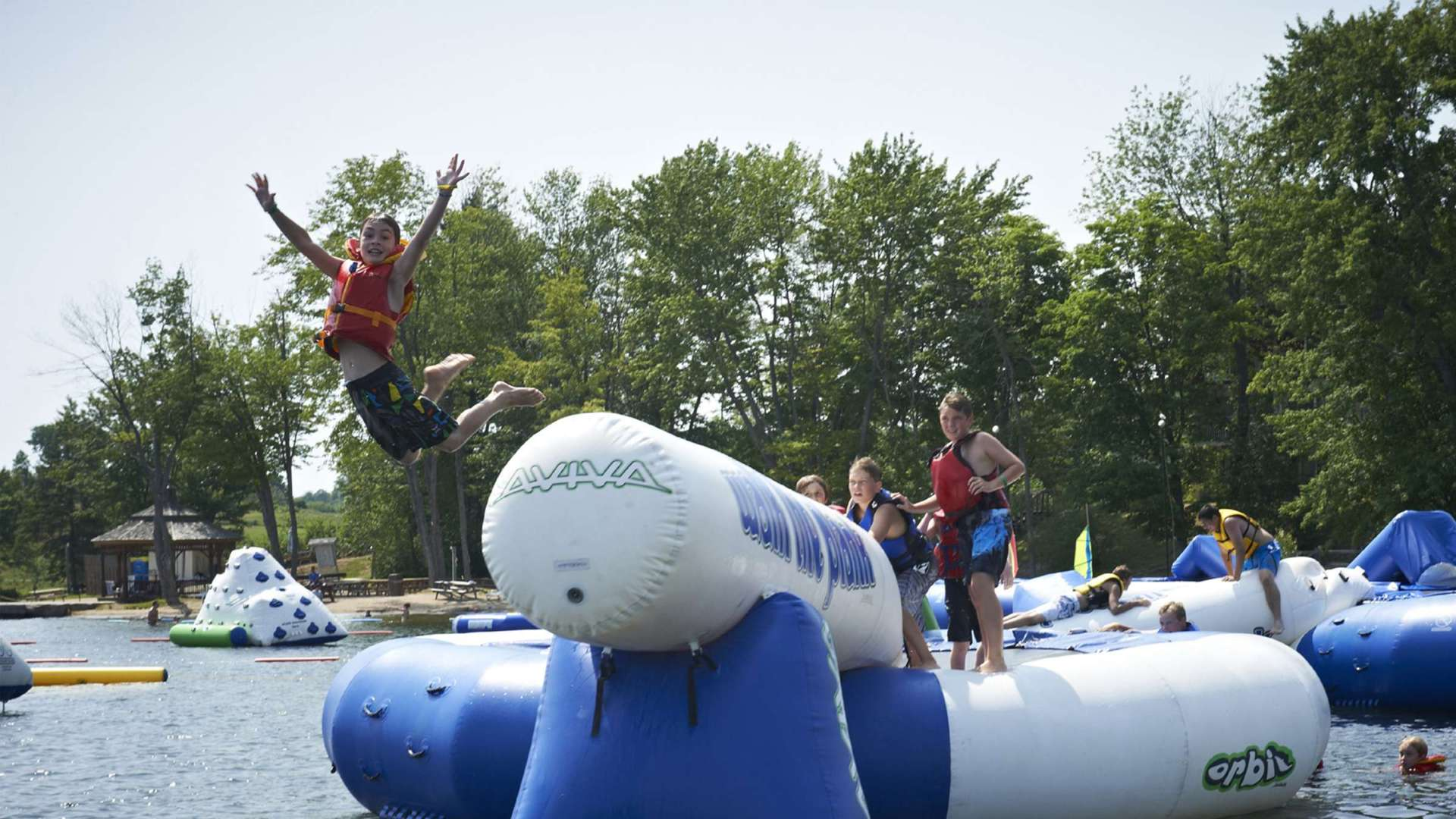 Summer Splash Zone at Deerhurst