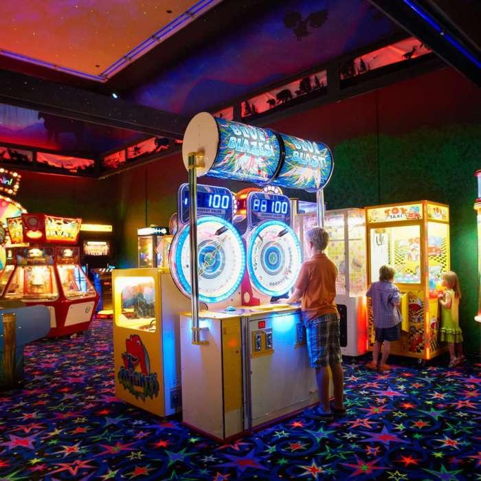 Indoor Gamesroom at Deerhurst