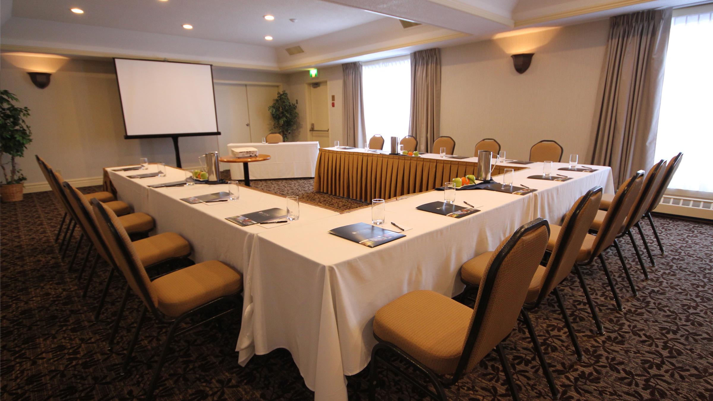 Bayshore Meeting Rooms at Deerhurst Resort