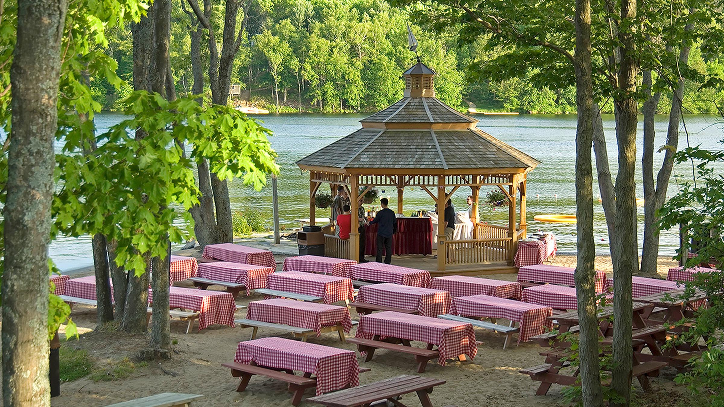 Outdoor Meeting Venues at Deerhurst Resort