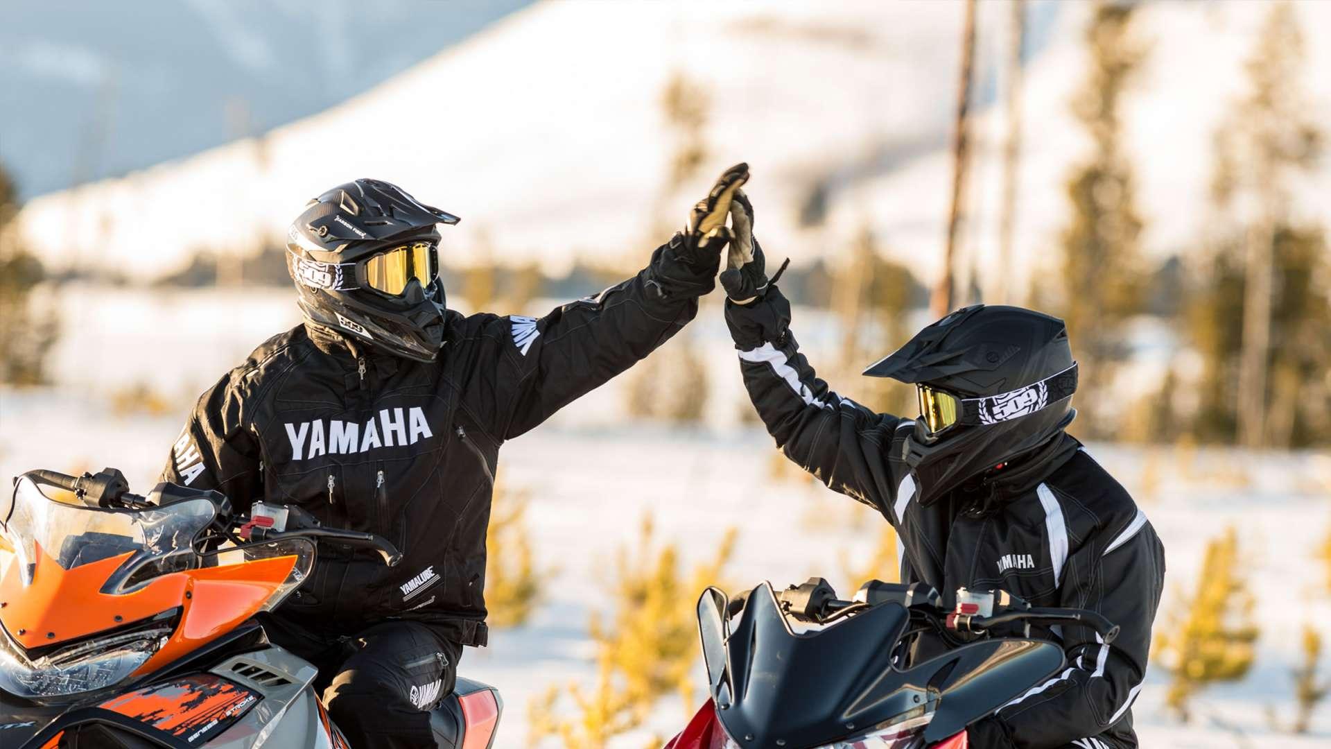 Yamaha Guided Snowmobile Tours