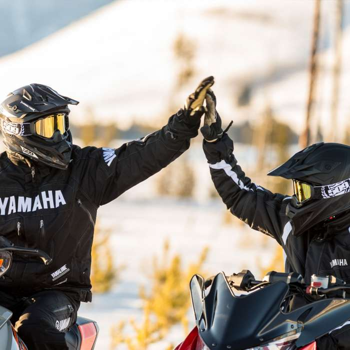 Yamaha Guided Snowmobile Tours