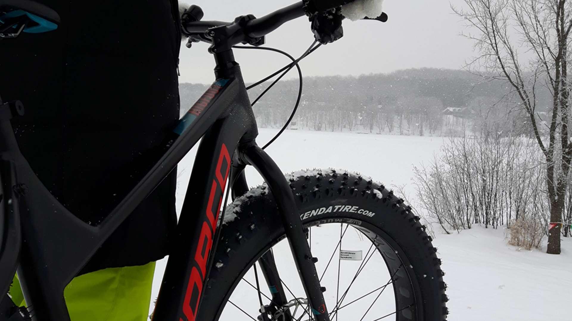 Fat Biking at Deerhurst Resort