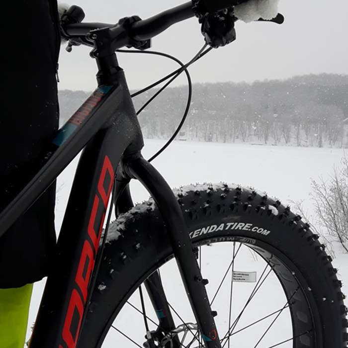 Fat Biking at Deerhurst Resort