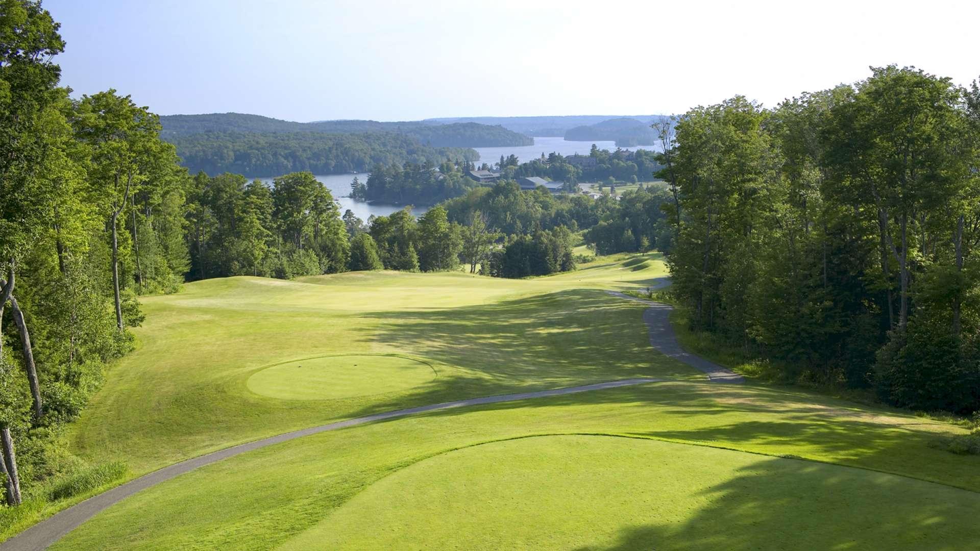Stay & Play Golf Packages at Deerhurst Resort