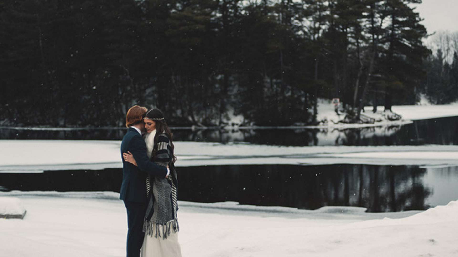 A Winter Wedding Worth Swooning Over