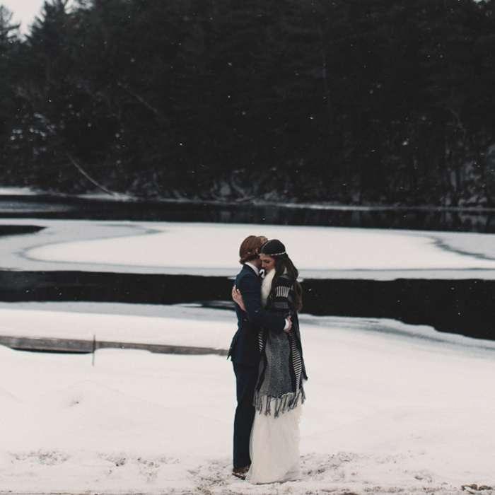 A Winter Wedding in Muskoka Worth Swooning Over