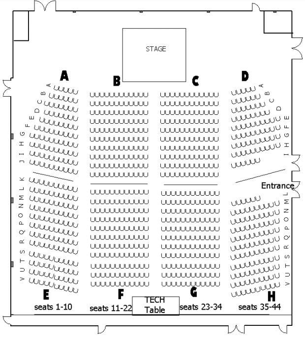 Sass Jordan Concert Seating. Deerhurst Resort