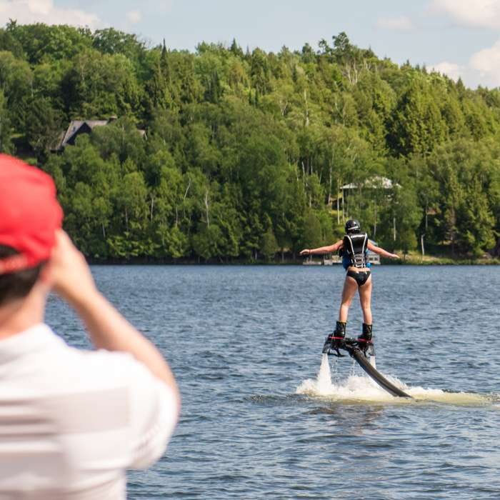 Flyboarding with SWS Muskoka