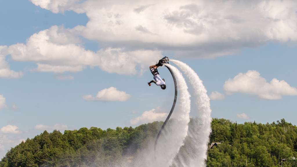 Flyboarding 101 with Geoff Hulet