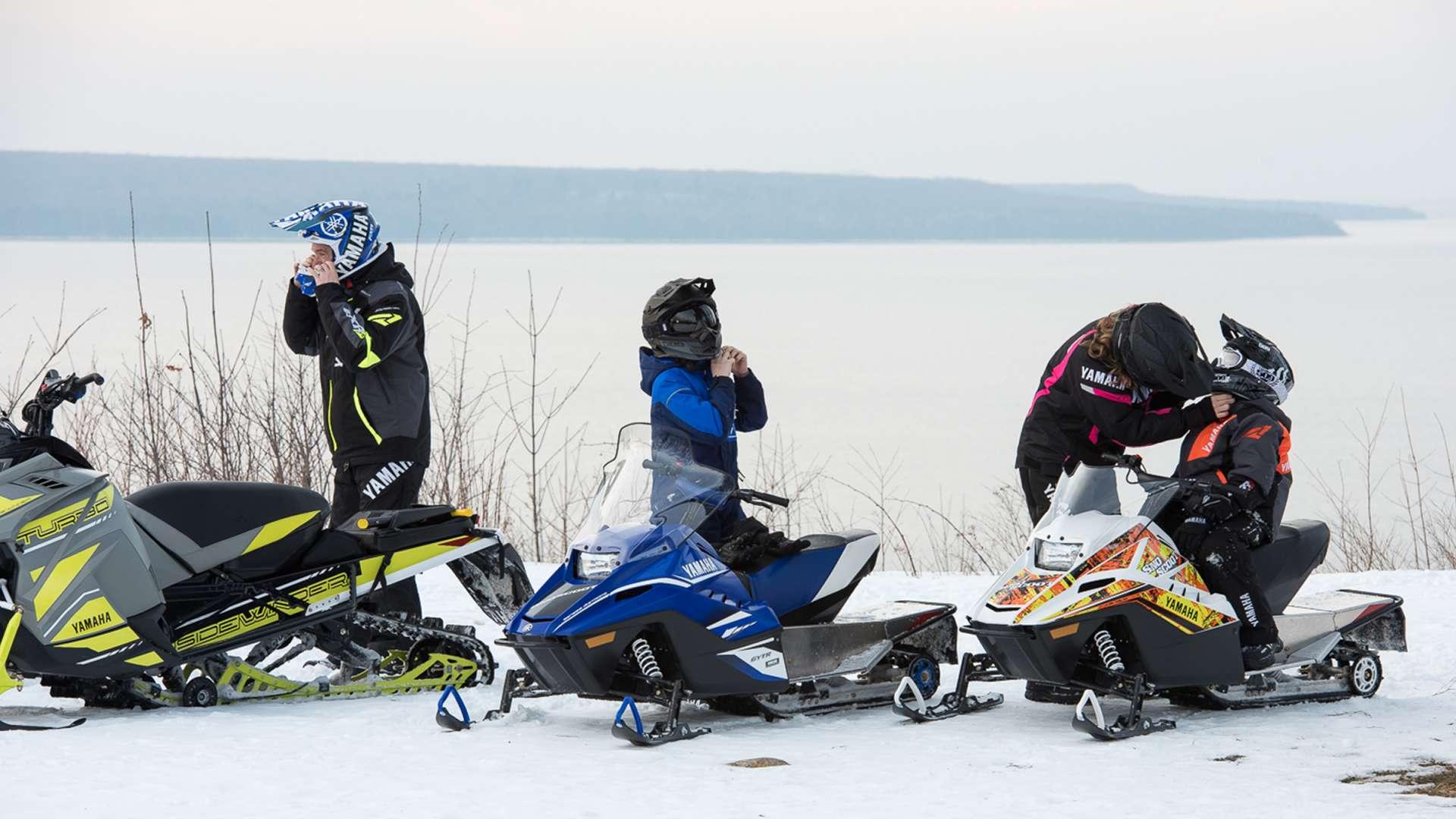 Snowmobiling at Deerhurst