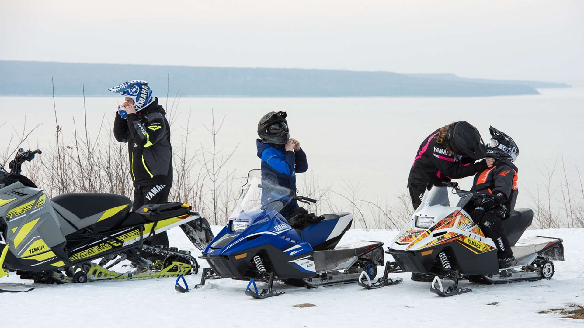 Snowmobiling at Deerhurst