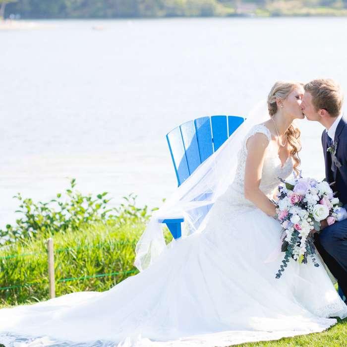 Krista & Dan: A Lakeside Ceremony