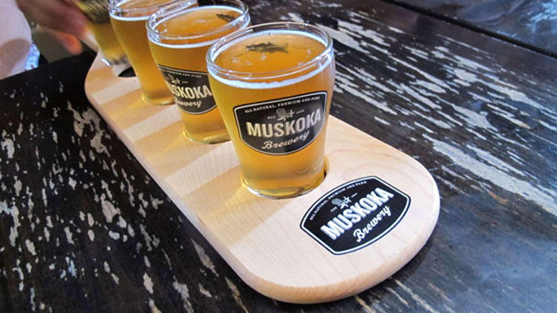 Muskoka Brewery Tours & Tap Room
