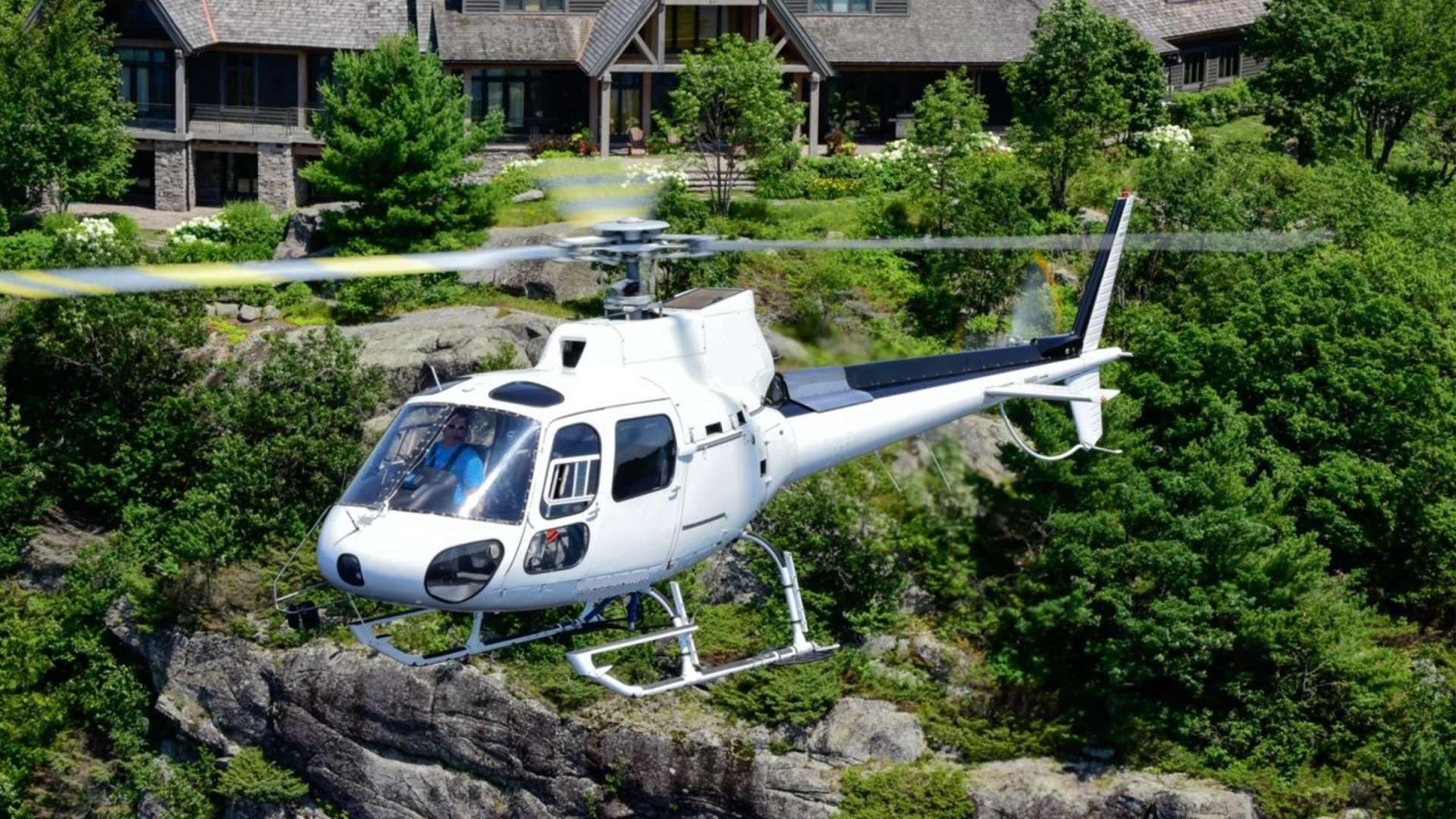 Helicopter Tours with Heli Muskoka