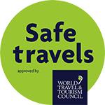 Safe Travel Stamp Logo
